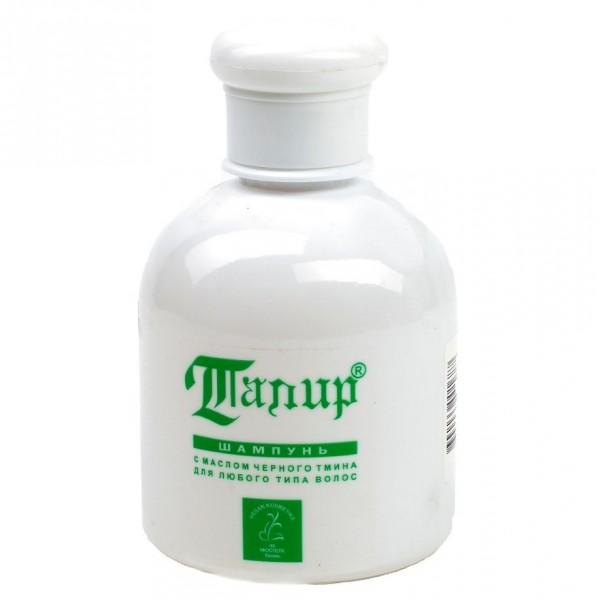Шампунь с маслом черного тмина ТАПИР для любого типа волос, 250 мл.