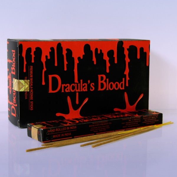 Благовония  Draculas Blood аромапалочки 1шт -15гр