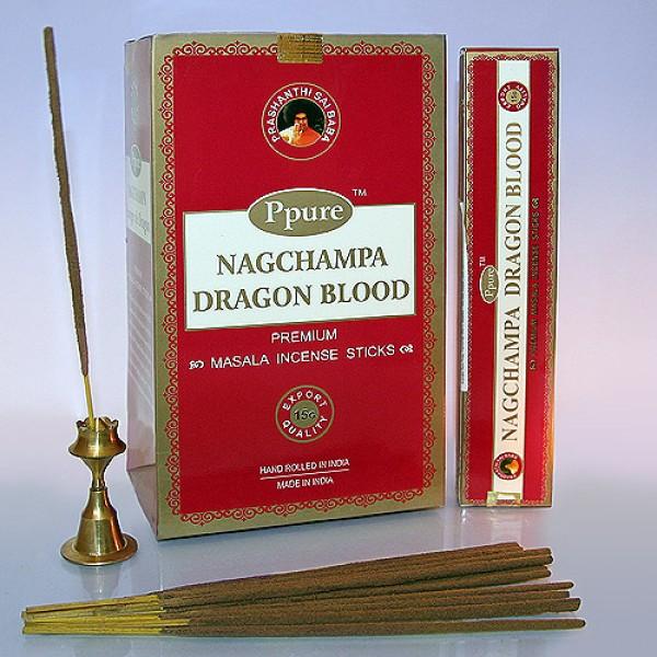 Благовония  Ppure Dragon Blood аромапалочки 1 шт 15гр